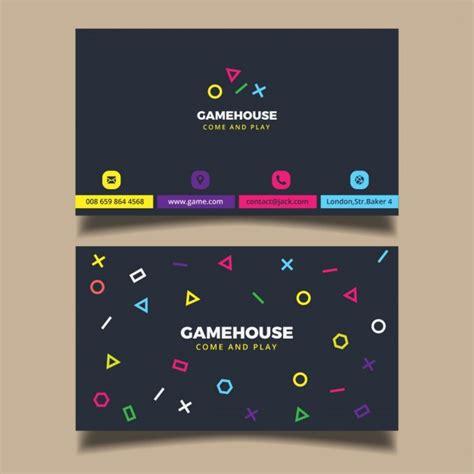 Gamer Business Cards
