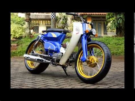 Motor Honda C70 motor trend modifikasi modifikasi motor honda c70 si