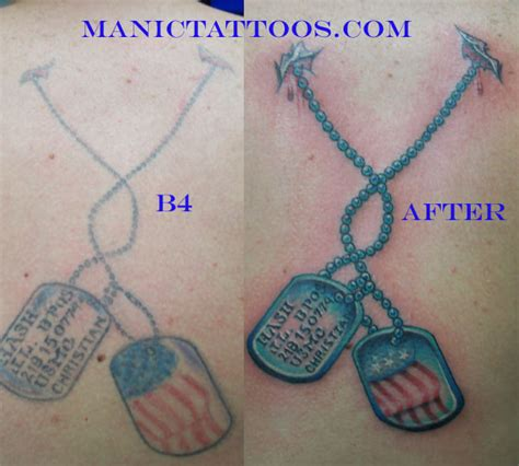 tattoo tag questions dog tags reworked tattoo by chris oppenheim tattoonow