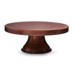 sur la table cake stand sur la table bronze finish cake stand copper 30 00
