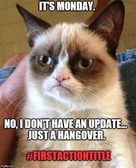 Grumpy Cat Monday Meme - grumpy cat meme imgflip