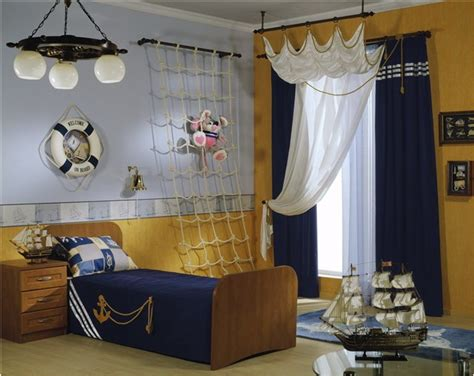 Nautical Themed Bedroom Curtains | nautical theme for boys bedrooms room design ideas