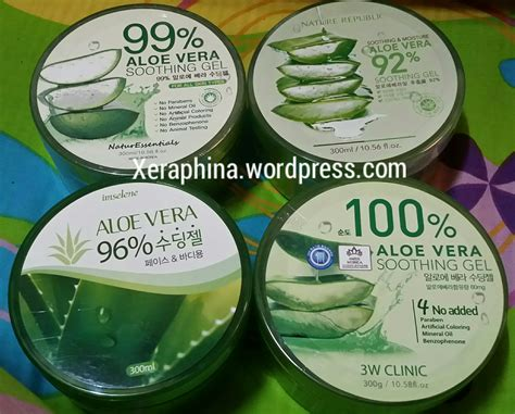 Nature Republic Aloe Vera Soothing Gel Review Acne nature republic aloe vera review acne indonesia popular