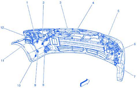 pontiac   headlight electrical circuit wiring diagram carfusebox