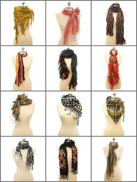 different ways to wear a scarf wraps hats