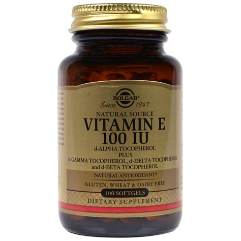 Suplemen Vitamin E vitamin e supplement benefit side effects synthetic