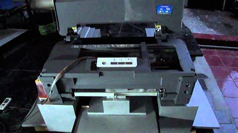 Printer Dtg Epson A3 direct to garment printer epson t1100 dtg a3 mp4