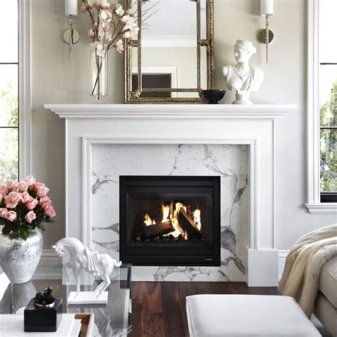 1000  ideas about White Fireplace Mantels on Pinterest