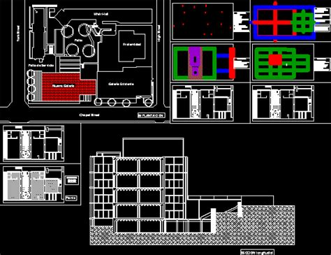 louis kahn art gallery dwg block  autocad designs cad