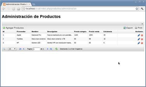 codeigniter newsletter tutorial 191 c 243 mo realizar un crud sencillo en php y codeigniter desde