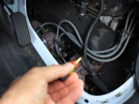 replace coolant sensor  chevy express