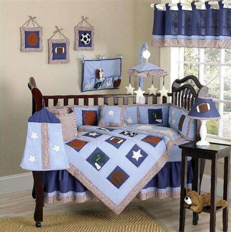 Sports Crib Bedding Set by Play Sports 9 Pc Crib Bedding Set Baby Higgins