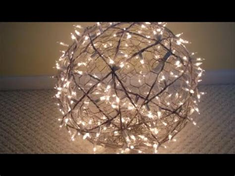 how to make lighted balls diy how to make lighted balls