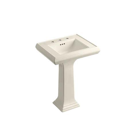kohler memoirs bathroom sink kohler memoirs ceramic pedestal combo bathroom sink in