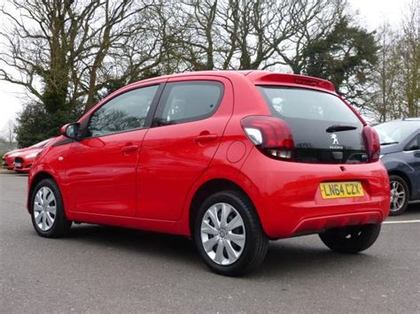 Used Peugeot 108 Active 1 0 Automatic 5 Door For Sale