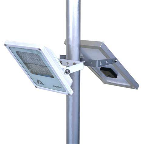 Solar Powered Outdoor Pole Lights Mini Alpha 600x Outdoor Waterproof 3 Power Modes 5m Cable Automatic Solar Powered Led Pole Light
