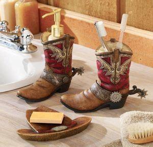 Horseshoe Bathroom Accessories Western Horseshoe Cowboy Shower Curtain Bath Hook Towels Rug Set Bathroom Decor Bathrooms