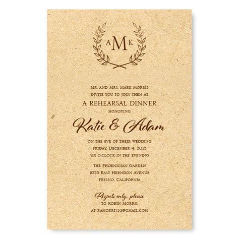 invitations for a wedding rehearsal dinner etiquette rehearsal dinner invitations american wedding