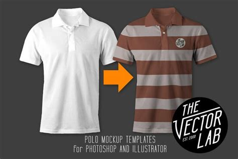 Tshirt Kaos What Do You get s polo shirt mockup templates by thevectorlab on