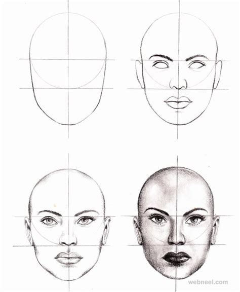 how to draw doodle faces how to draw human