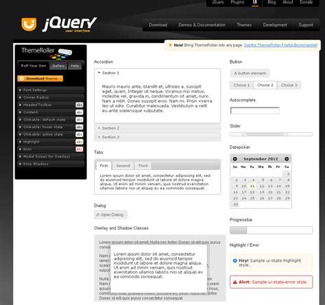 jquery ui themes exles detailed guide of how to setup jquery ui part 1 jquery