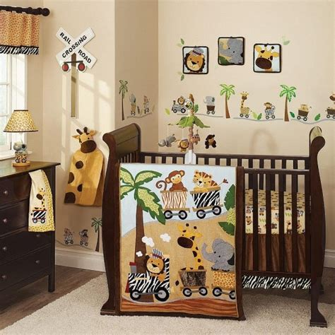 jungle themed crib bedding d 233 co chambre b 233 b 233 gar 231 on id 233 es de linge de lit en 26 photos