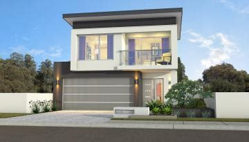 narrow lot 2 storey house plans designs perth novus homes