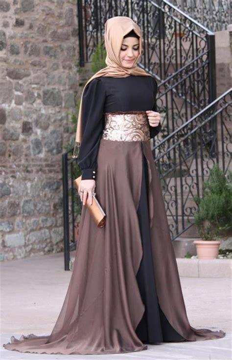 Model Gaun Pesta Muslimah Terbaru 2016