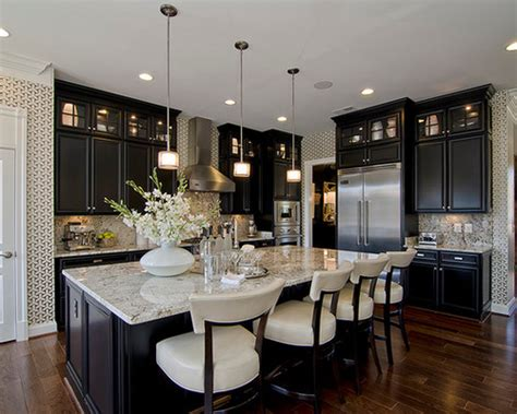 dark or light cabinets for small kitchen 20 beautiful dark cabinets light countertops design ideas