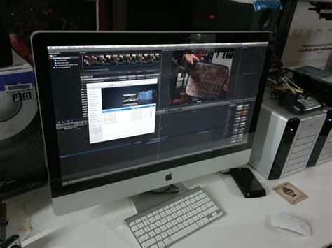 final cut pro imac pegasus r6 final cut pro x thunderbolt connection