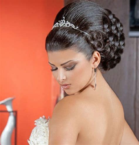 Hochzeitsfrisur Mit Krone by Arabische Hochzeitsfrisuren Genie 223 En Sie Die Sch 246 Nheit
