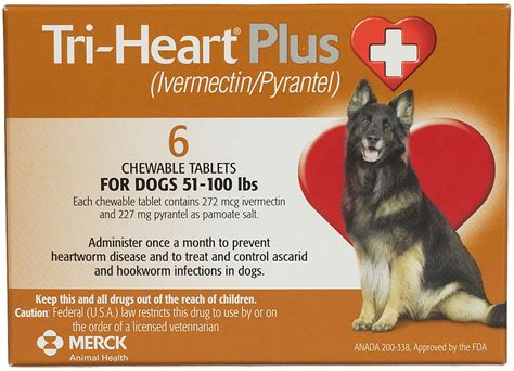 tri for dogs tri plus for dogs compares to heartgard plus merck safe pharmacy heartworm