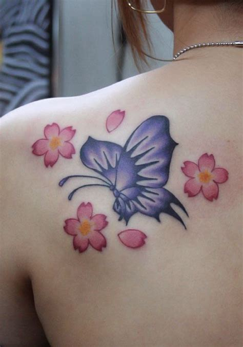 butterfly tattoo cherry blossom 297 best images about beautifully tattooed on pinterest