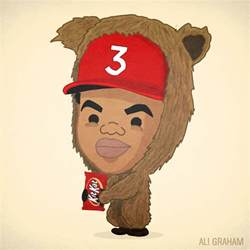 Coloring Book Chance The Rapper Lil Ye