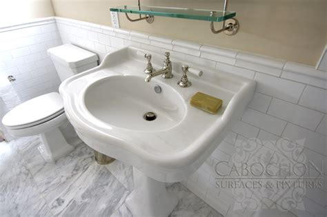 1920s Bathroom Fixtures 1920 S Shepard Renovation La Jolla Traditional Bathroom San Diego By Cabochon