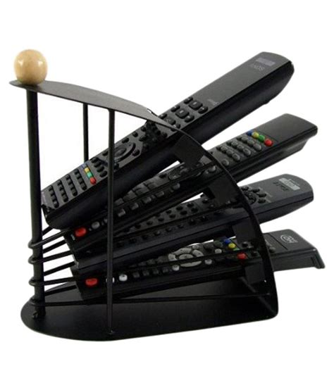 Rak Remote Organizer Rack autostark black remote organizer stand mobile storage shelf rack holder home decor buy