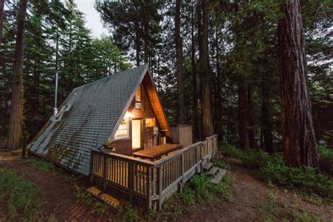 Small A Frame Cabin by This Tiny House Looks Like Only Roof But Inside Whoa