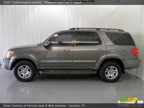 2005 Toyota Sequoia Limited Phantom Gray Pearl 2005 Toyota Sequoia Limited Taupe
