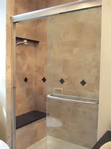 Small Bathroom Shower Tile Ideas Small Bathroom Ideas Traditional Bathroom Dc Metro By Bathroom Tile Shower Shelves