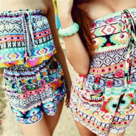 Tribal Pattern Onesie   blouse clothes onesie jumpsuit romper girl tribal