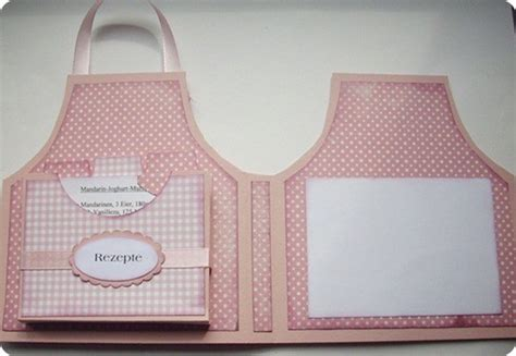 apron shaped card template project and free template apron recipe card and holder