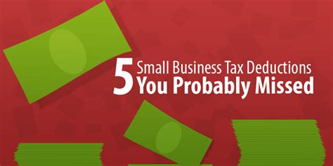 home business tax deductions keep what you earn books 5 small business tax deductions you probably missed