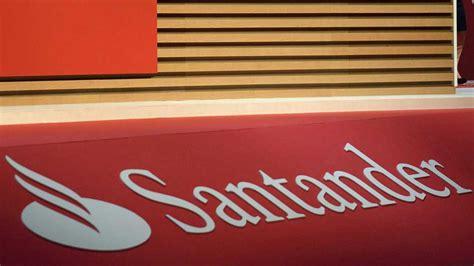 acciones banco santander hoy las acciones santander caen un 3 por ciento tras