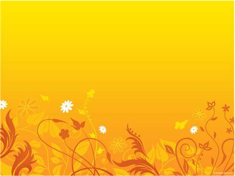 Floral Orange Powerpoint Templates Floral Orange Colorful Floral Powerpoint Templates Flowers Orange