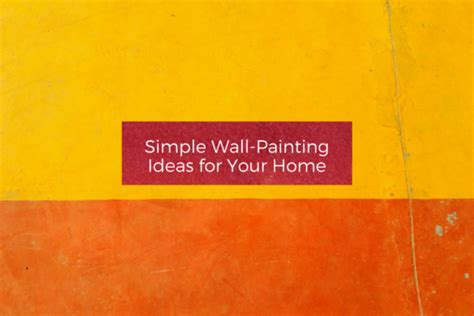 simplify your home simple wall painting ideas for your home home stripe