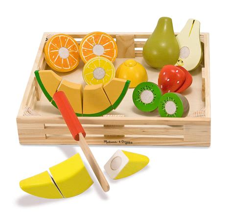 2 Set Woodem Puzzle Vegetanle And My Part doug cutting fruit set wooden play food kitchen accessory