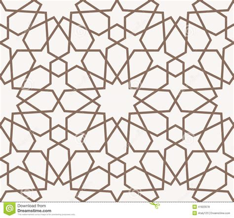 ornament template arabian pattern stock vector image 41823078