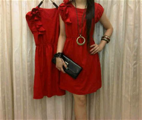 Baju Untuk Imlek dress spandek imlek dari baju grosir di pakaian wanita dress produk grosir