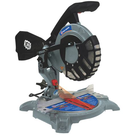 cing saw king canada 8 1 4 dual compound miter saw with laser