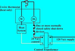 home air home air conditioning thermostat wiring